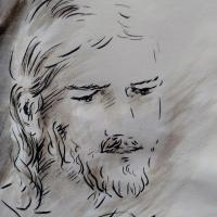 1 mai 2018 evangile du jour illustre par un dessin au lavis de jean joseph chevalier