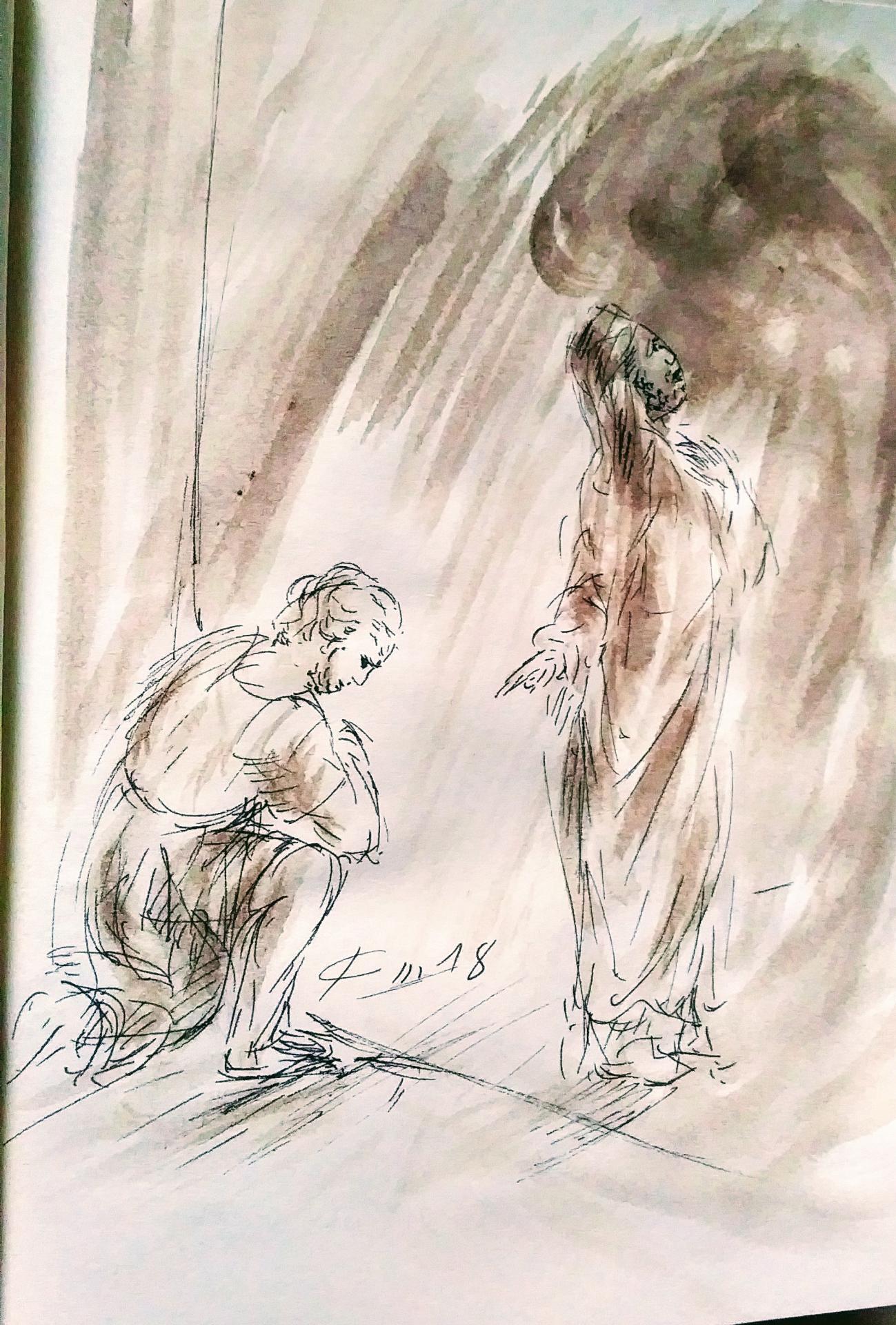 10 Mars, évangile du jour illustré