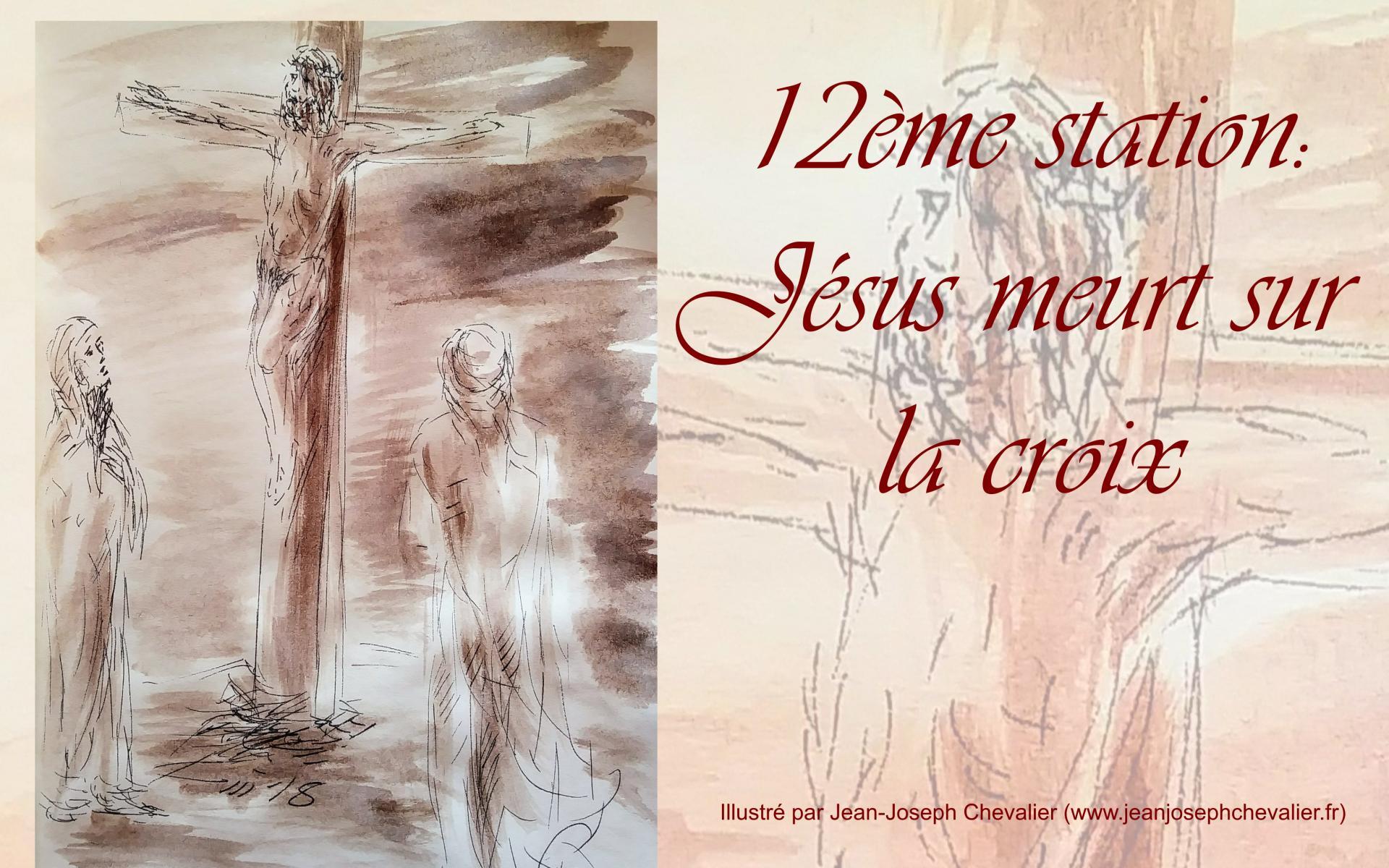 Chemin de croix, 12ème station