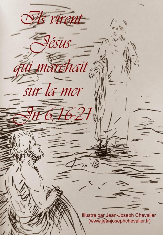 14 avril 2018 evangile du jour illustre par un dessin au lavis de jean joseph chevalier image