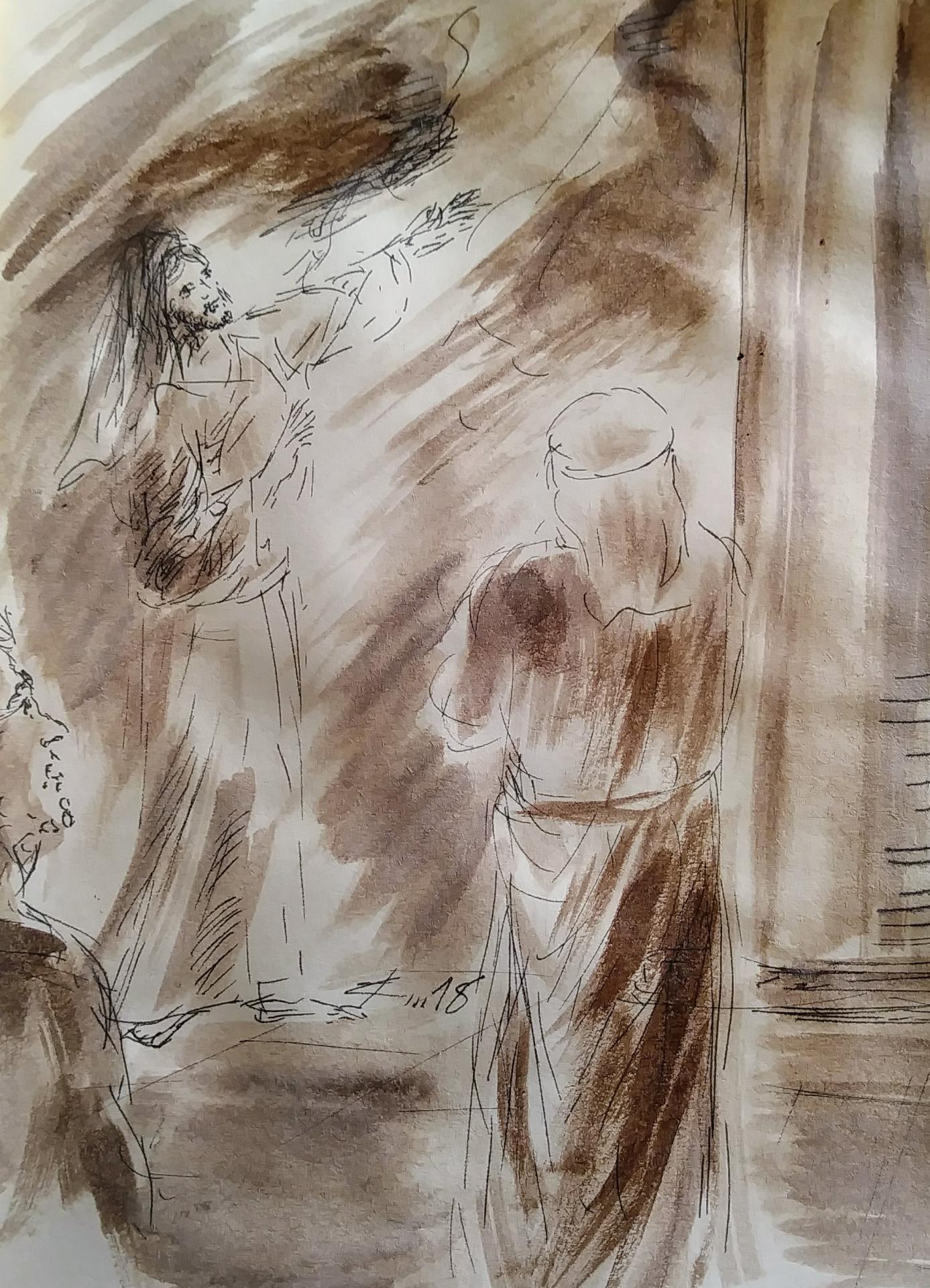 14 Mars, évangile du jour illustré