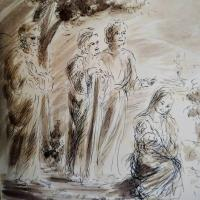 15 fevrier 2018 lc 9 22 25 evangile illustre par jean joseph chevalier