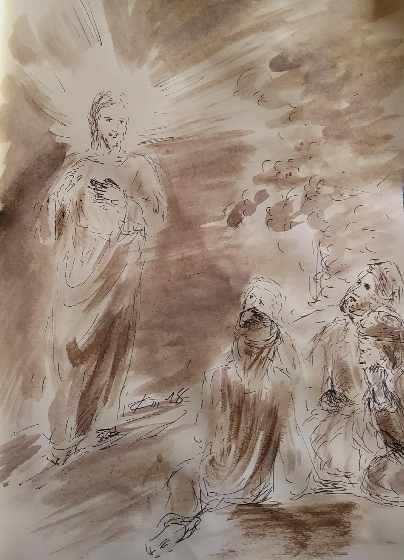 15 Mars, évangile du jour illustré