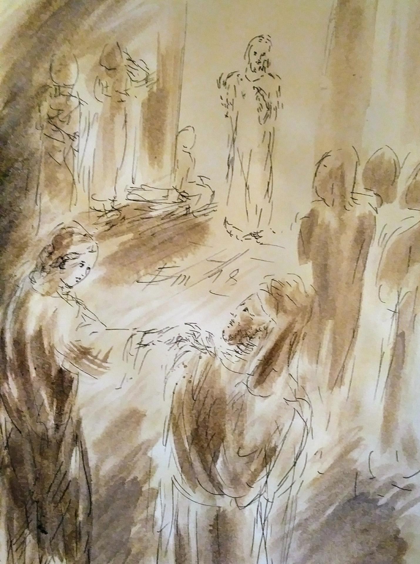 16 Mars, évangile du jour illustré
