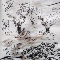 2 mai 2018 evangile du jour illustre par un dessin au lavis de jean joseph chevalier