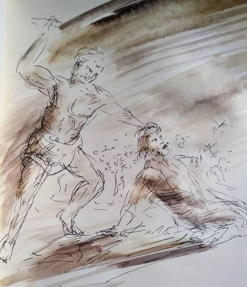 2 Mars, évangile du jour illustré