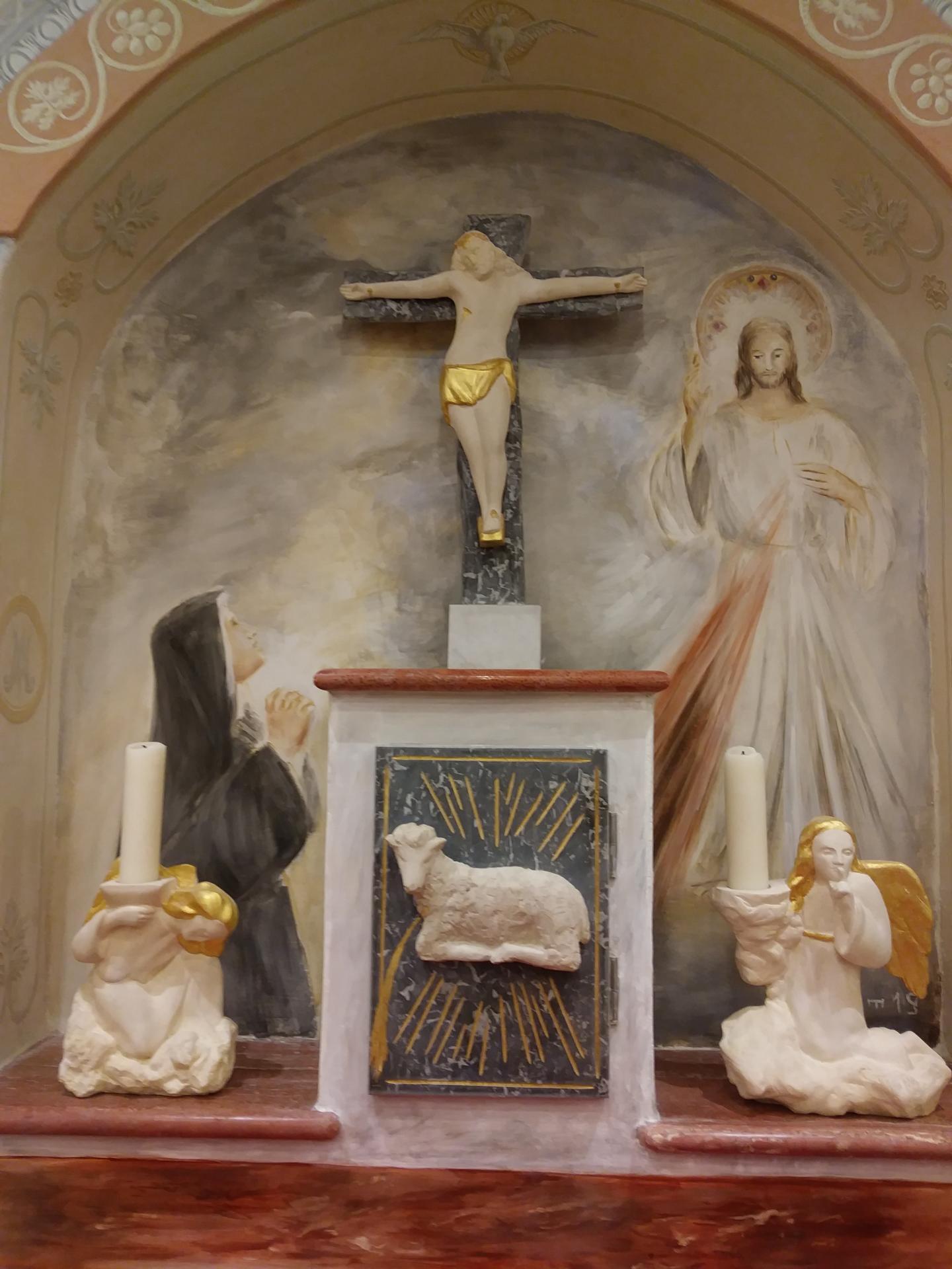 Fresque de la miséricorde