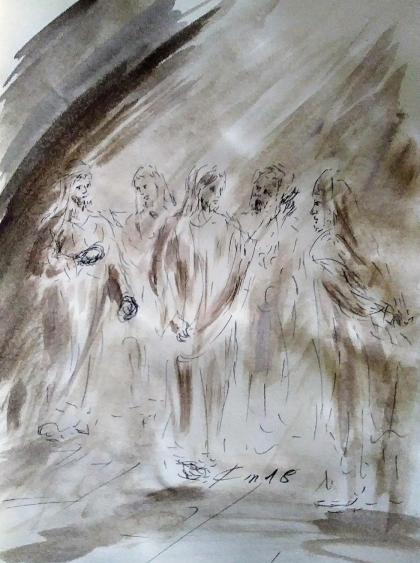 23 Mars, évangile du jour illustré