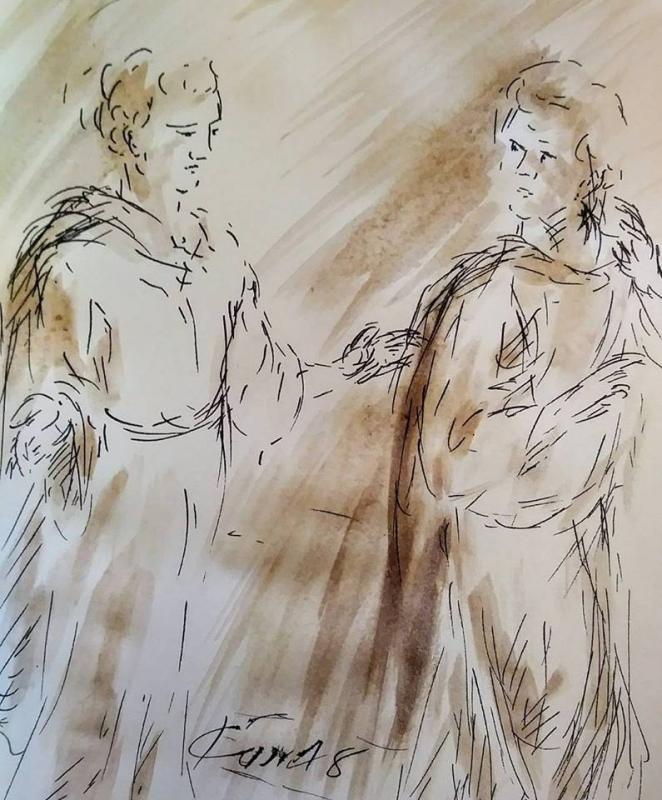 24 fevrier 2018 mt 5 43 48 evangile illustre par jean joseph chevalier
