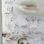 3 mars 2018 lc 15 1 3 11 32 evangile illustre par un dessin au lavis de jean joseph chevalier