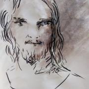 4 mai 2018 evangile du jour illustre par un dessin au lavis de jean joseph chevalier