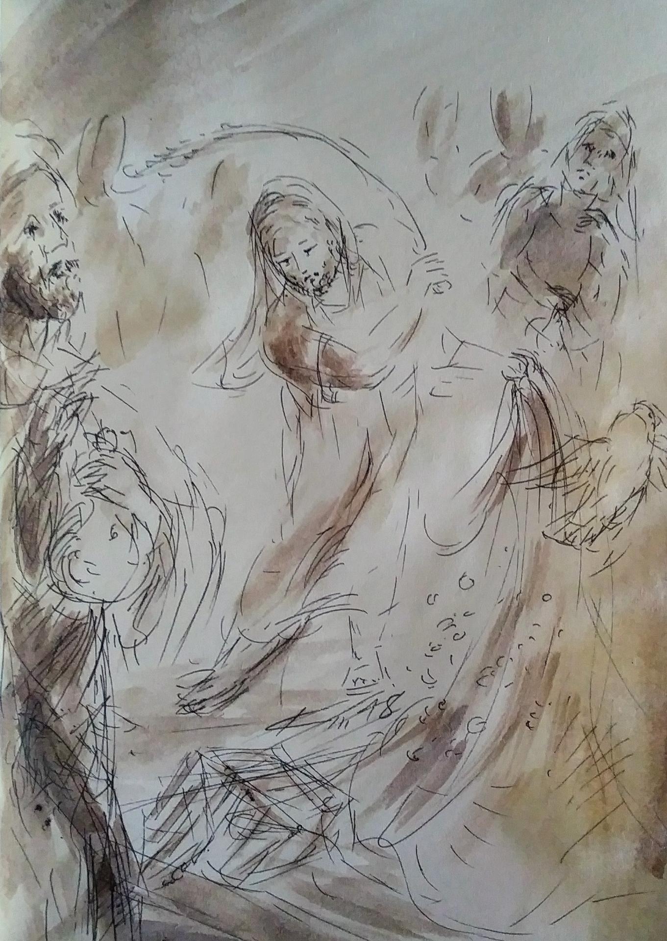 4 Mars, évangile du jour illustré
