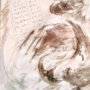 7 mars 2018 evangile du jour illustre par un dessin au lavis de jean joseph chevalier