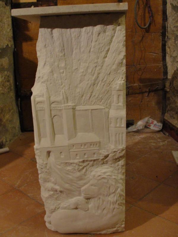 Jérusalem céleste, Autel du precieux sang par jean joseph chevalier 96