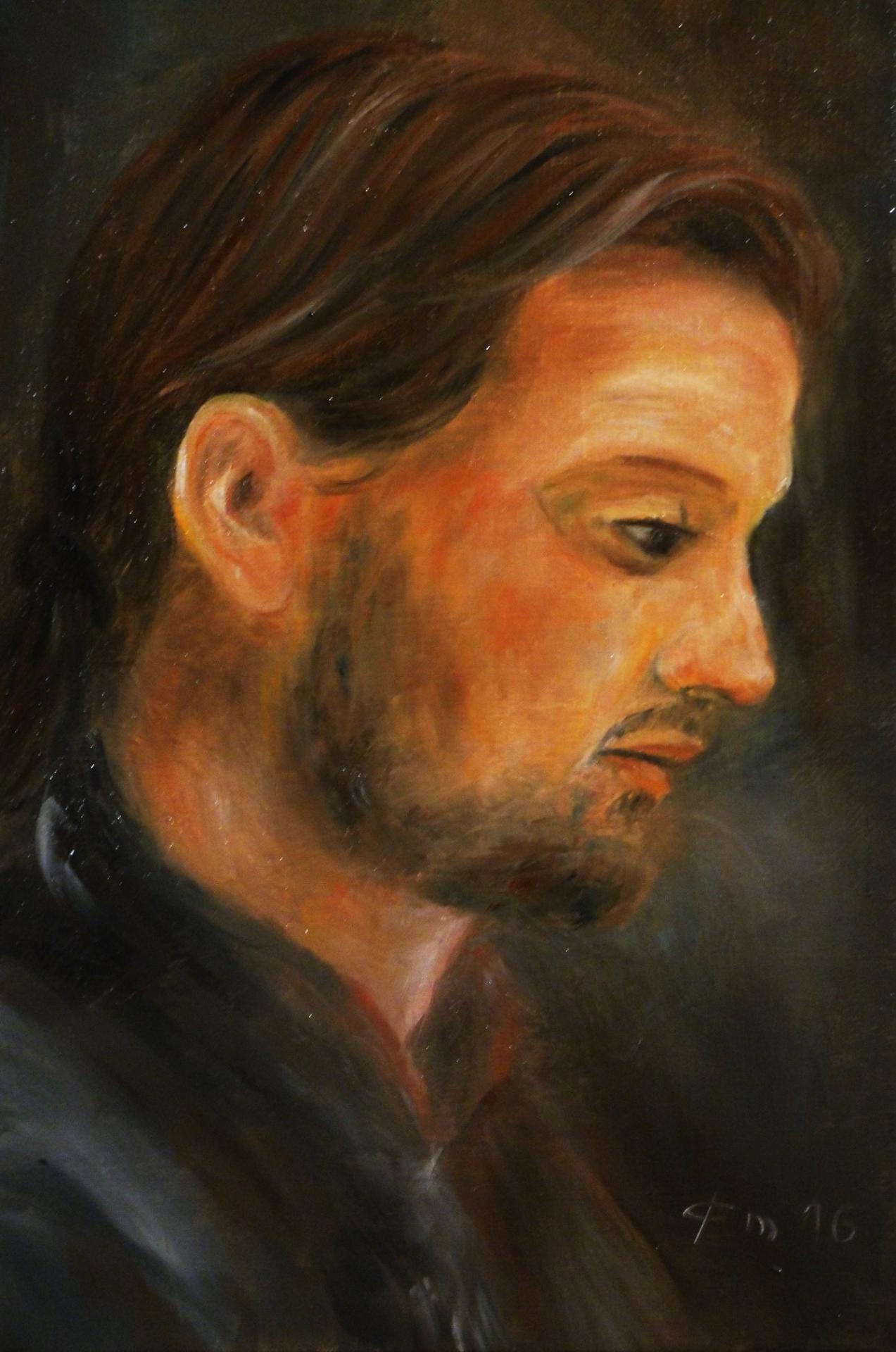 Autoportrait par jean joseph chevalier