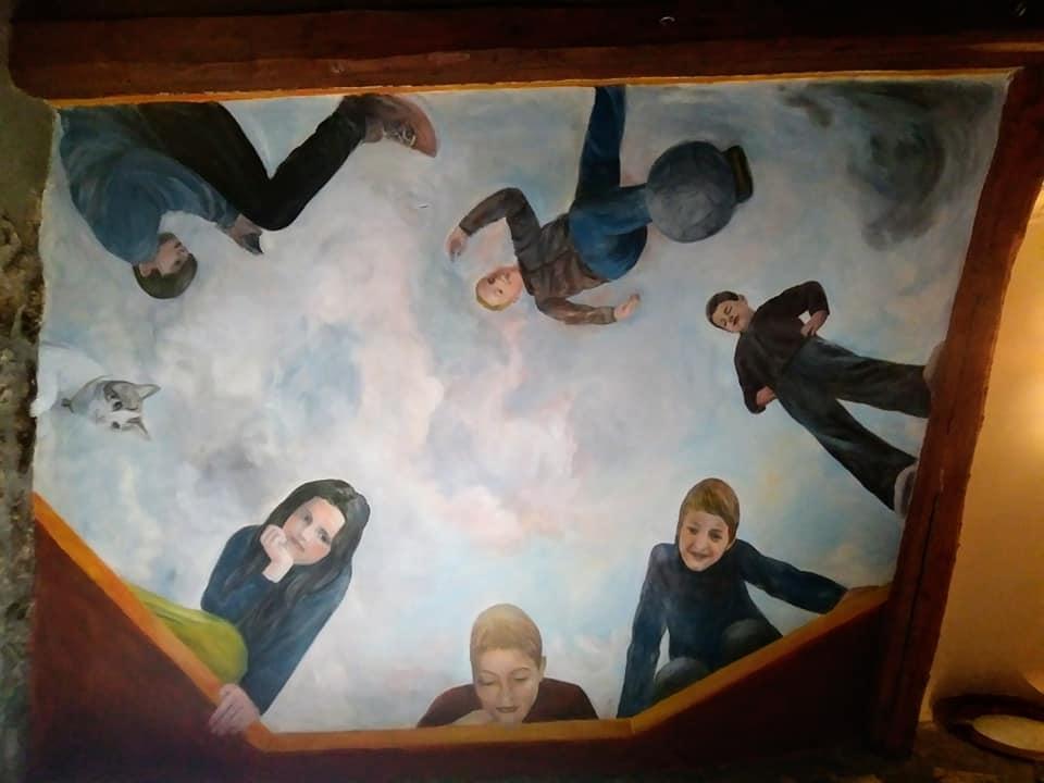 Decor de plafond avec enfants par jean joseph chevalier 3