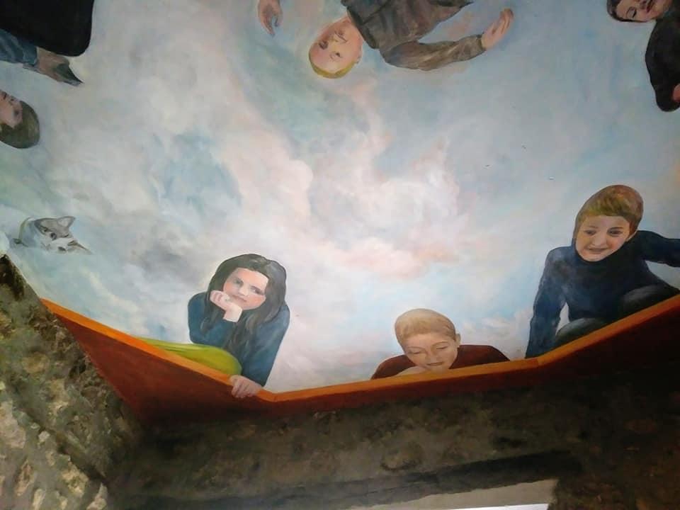 Decor de plafond avec enfants par jean joseph chevalier 5