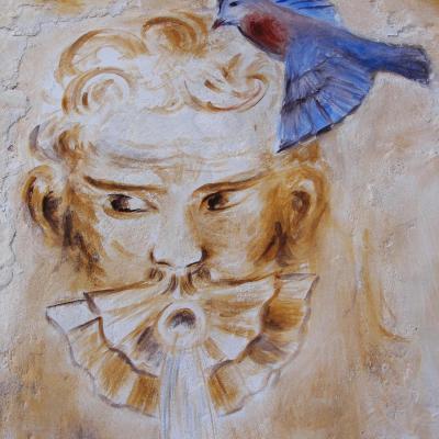 Fresque a fresco détail