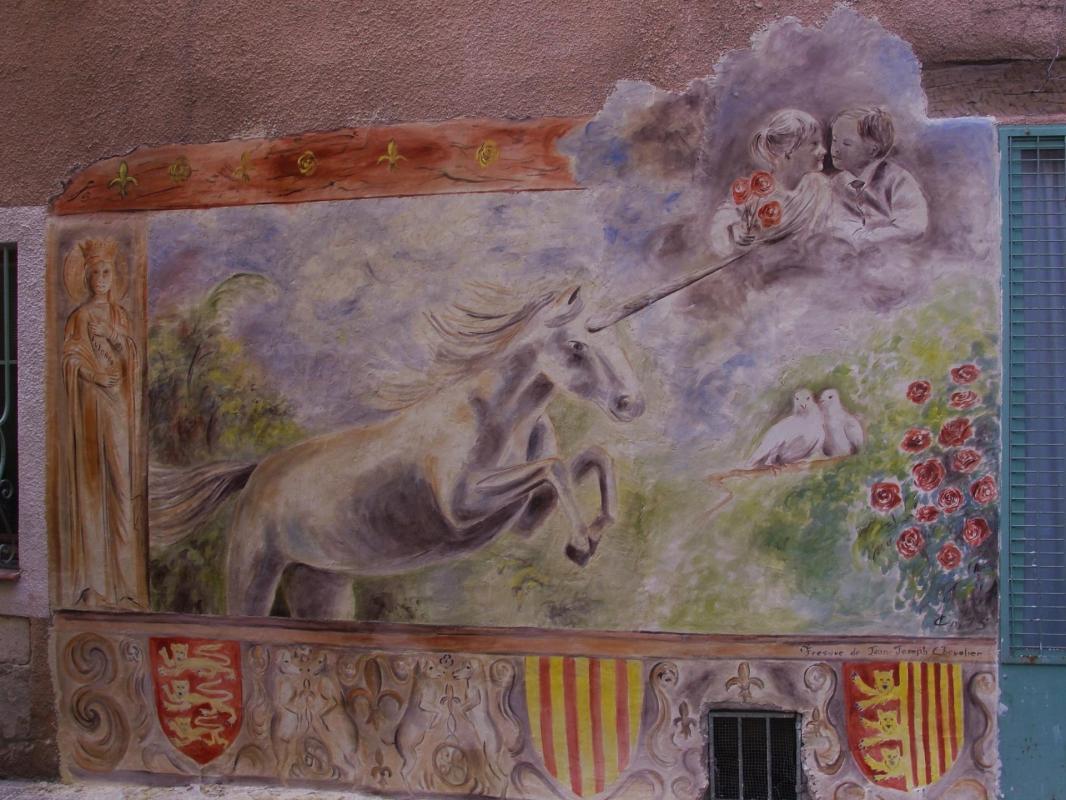 Fresque a la licorne a brignoles var par jean joseph chevalier 21