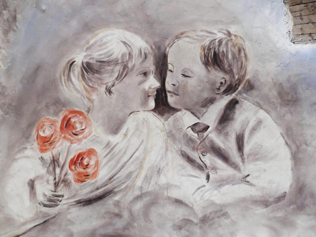 Fresque a la licorne a brignoles var par jean joseph chevalier 23