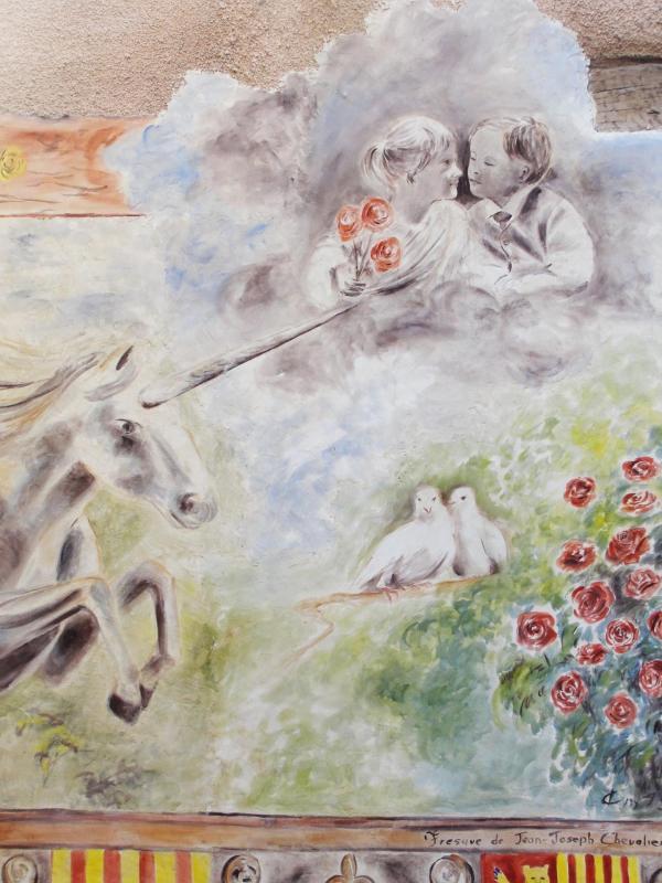 Fresque a la licorne a brignoles var par jean joseph chevalier 24