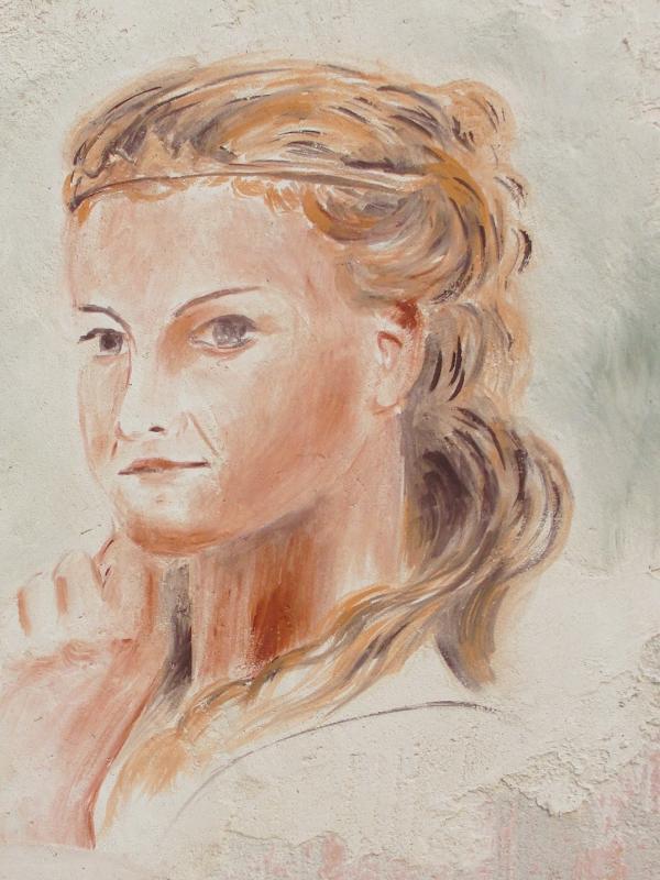 Fresque de la belle dame par jean joseph chevalier a brignoles 10