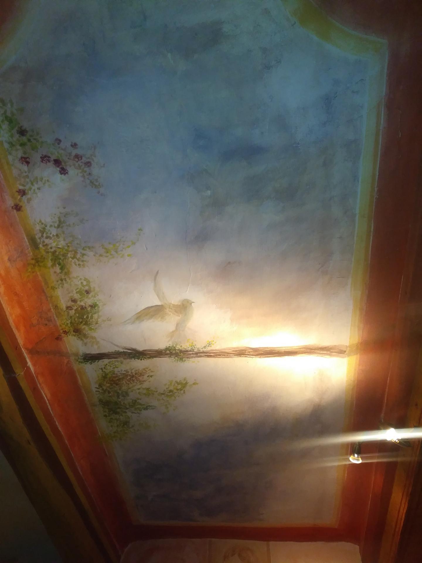 Fresque decorative d un plafond decor 3