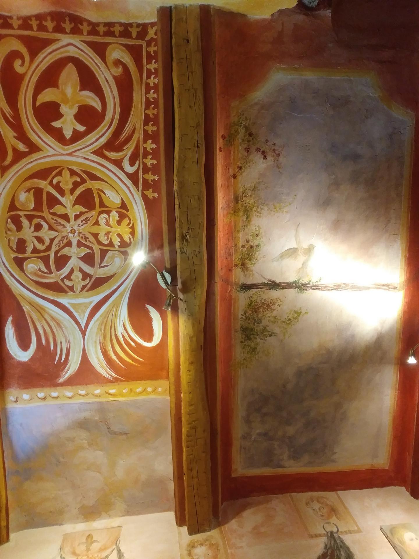 Fresque decorative d un plafond decor 4