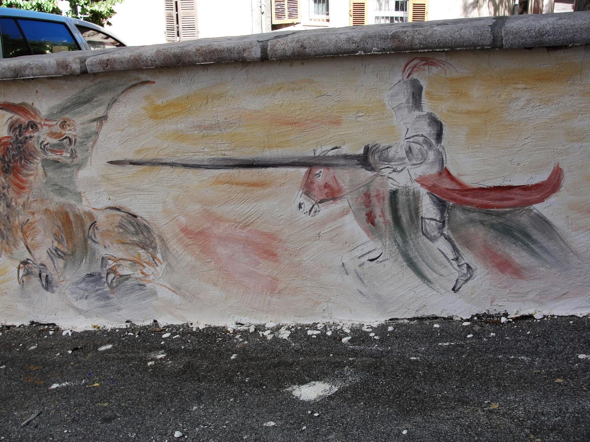 Fresque des templiers par jean joseph chevalier 11