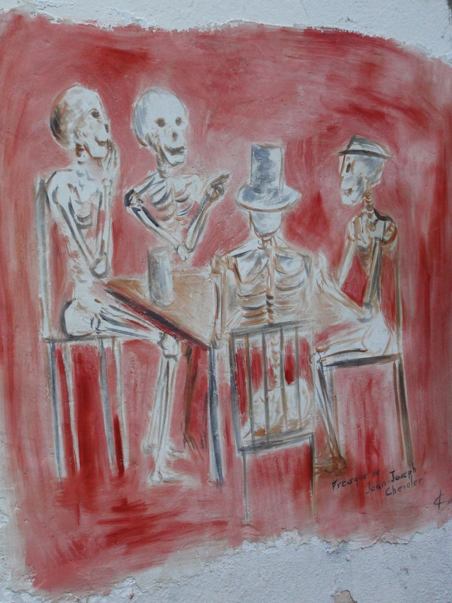 Fresque des vanites par jean joseph chevalier a brignoles 20