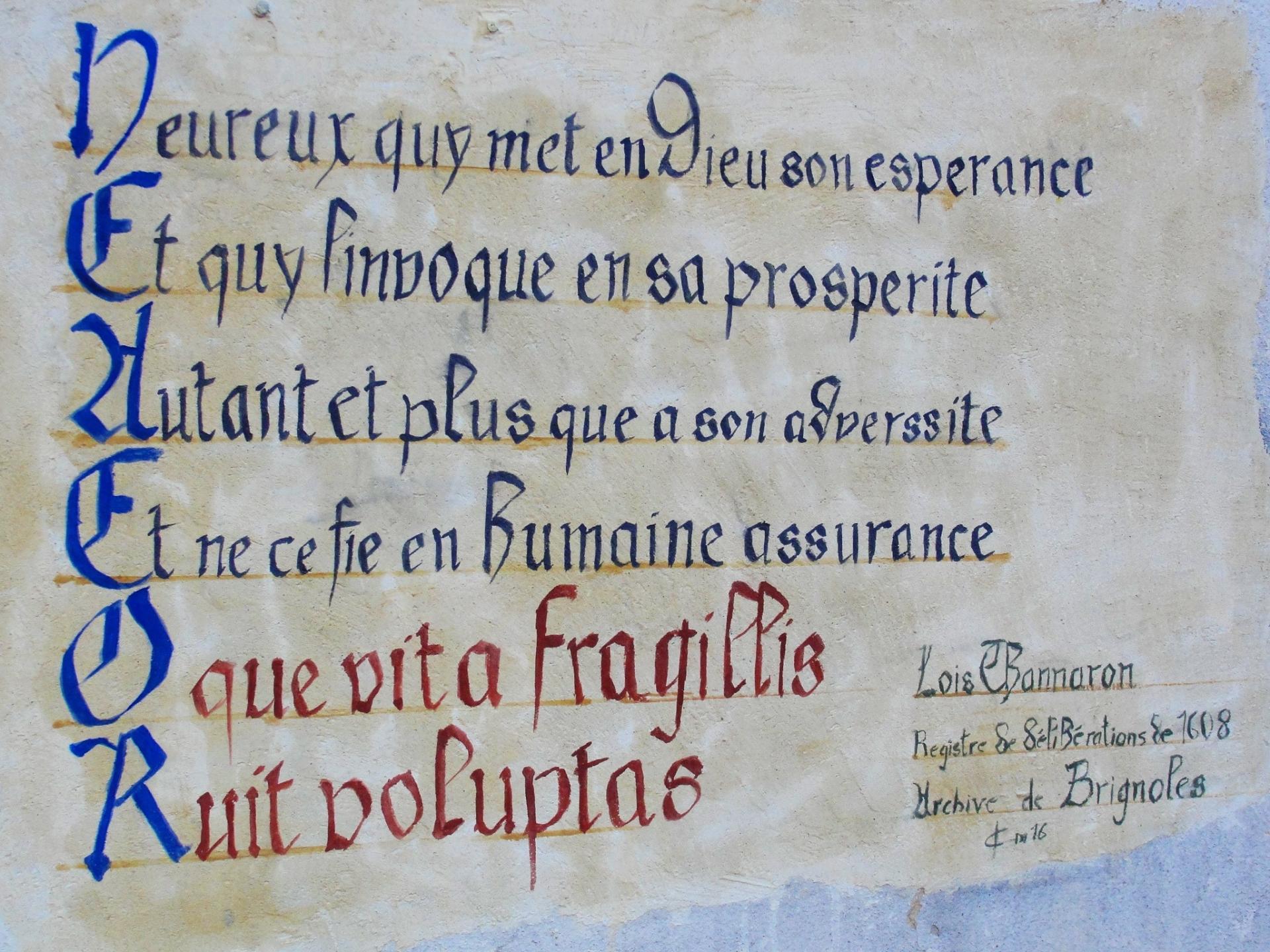 Fresque des vanites par jean joseph chevalier a brignoles 9