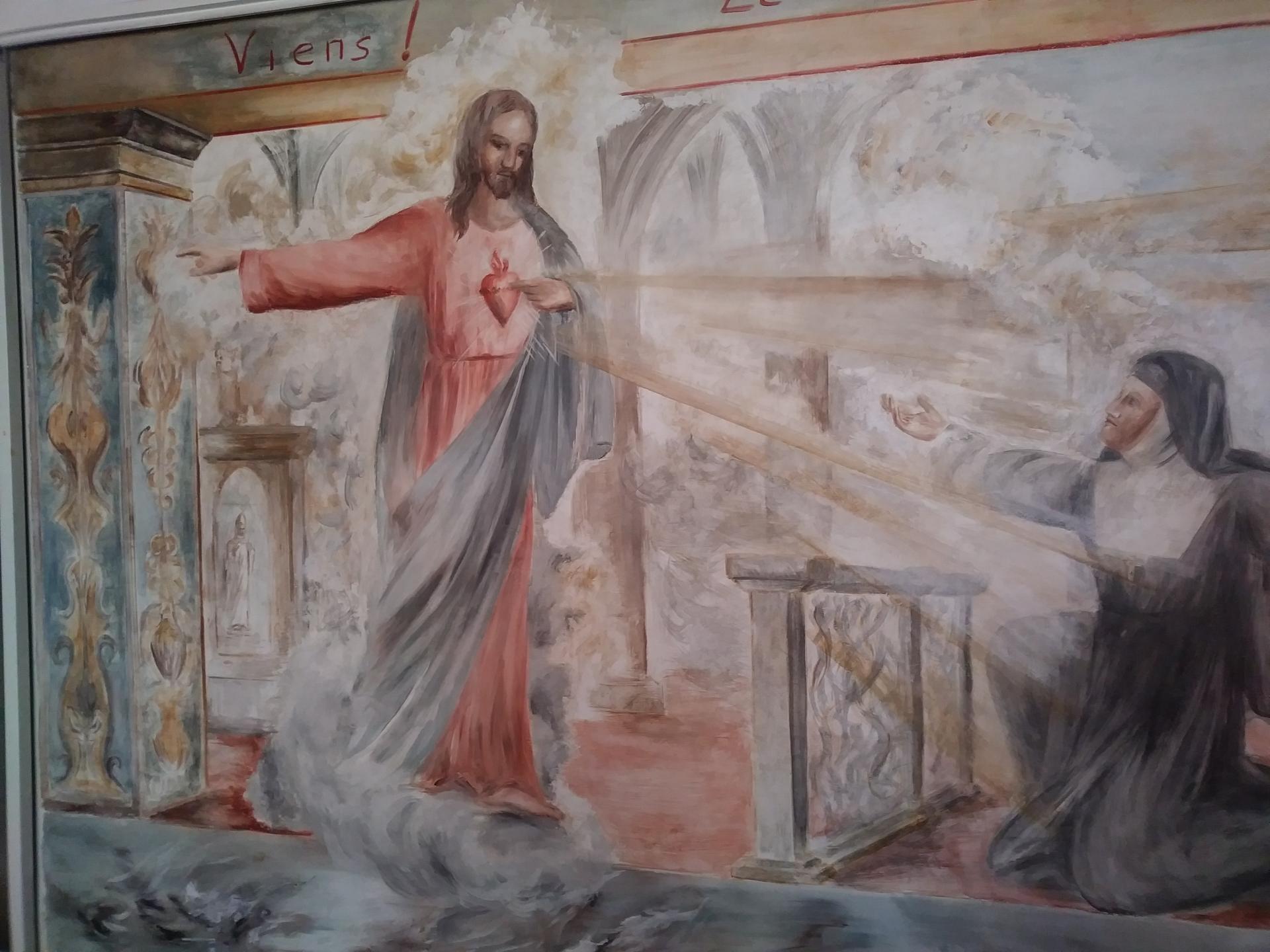 Fresque du sacre coeur a marseille 61