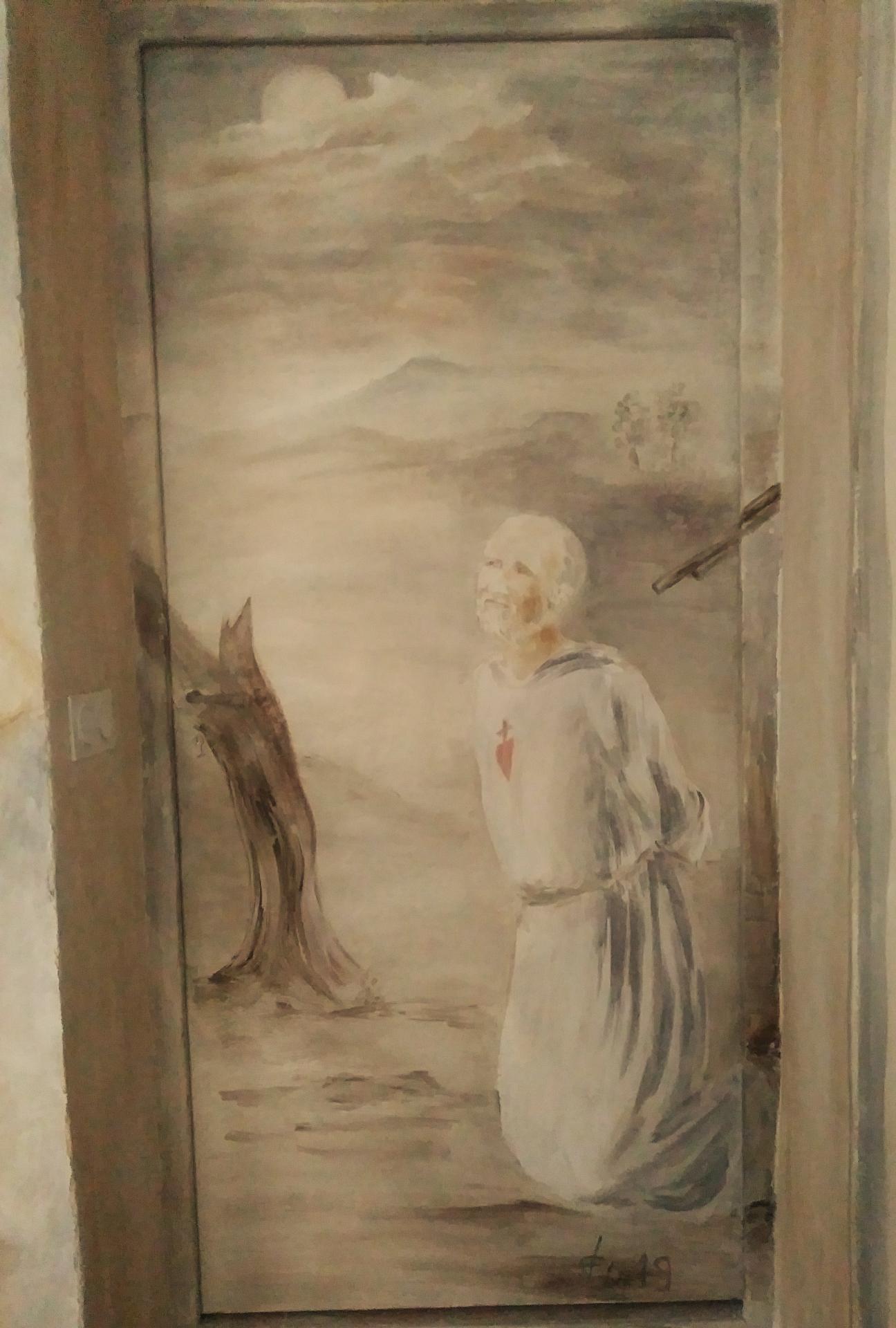 Fresque mort de charles de foucauld