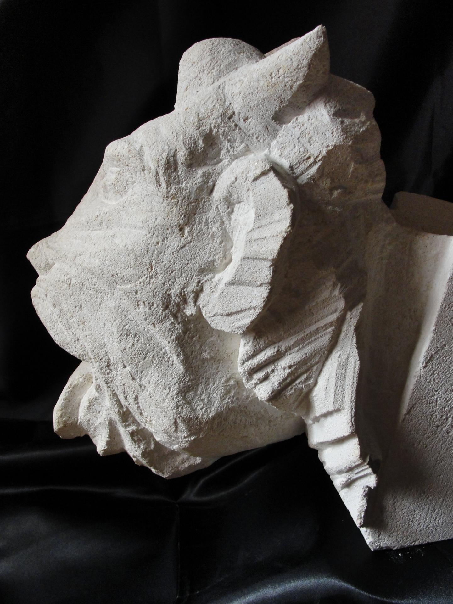 Gargouille en pierre de Jean-Joseph Chevalier
