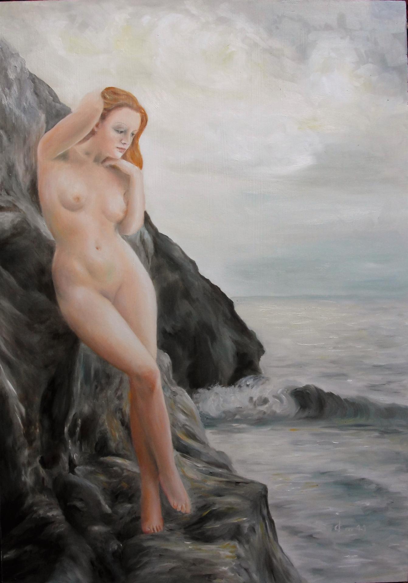 Peinture de nu par jean joseph chevalier 1