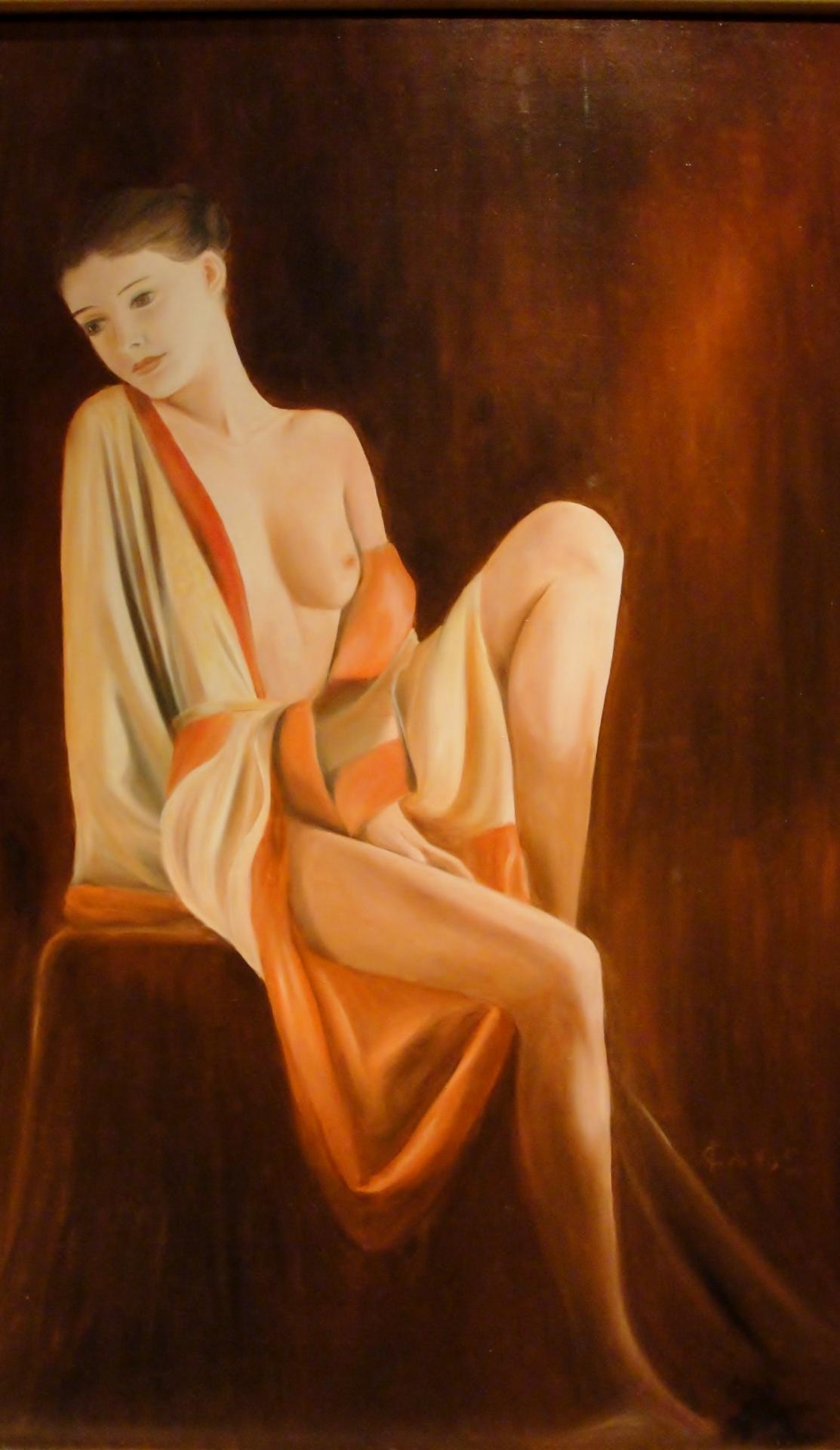 Peinture de nu par jean joseph chevalier 8