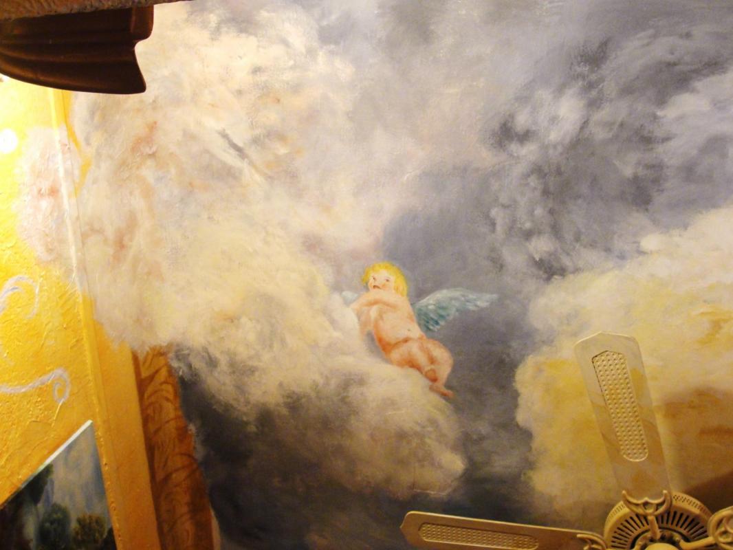 Peinture murale a l antique par jean joseph chevalier 1