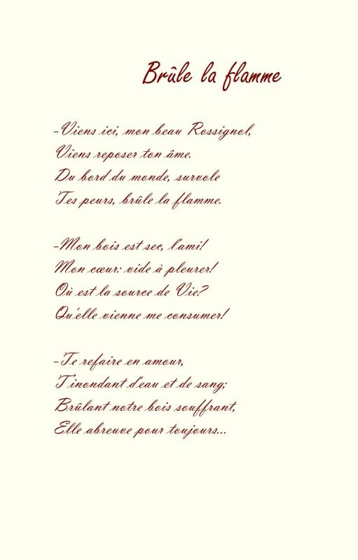 Recueil du rossignol poeme et sanguine de jean joseph chevalier 11