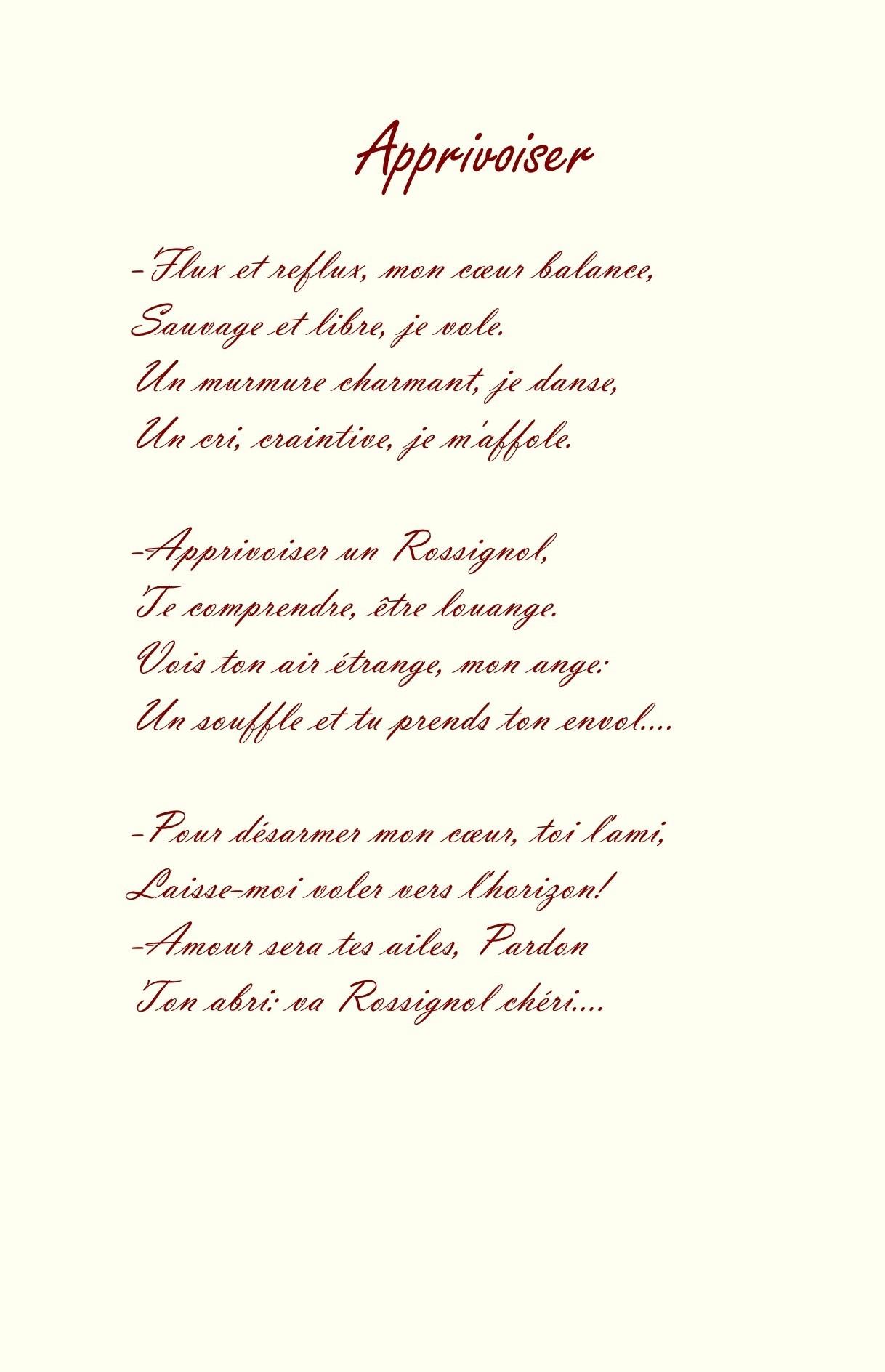 Recueil du rossignol poeme et sanguine de jean joseph chevalier 27