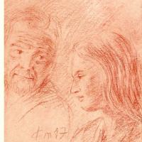 Recueil du rossignol poeme et sanguine de jean joseph chevalier 28