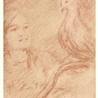 Recueil du rossignol poeme et sanguine de jean joseph chevalier 40