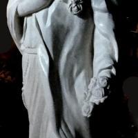 Sculpture sur pierre statue en ronde bosse ste therese de lisieux toulon 261