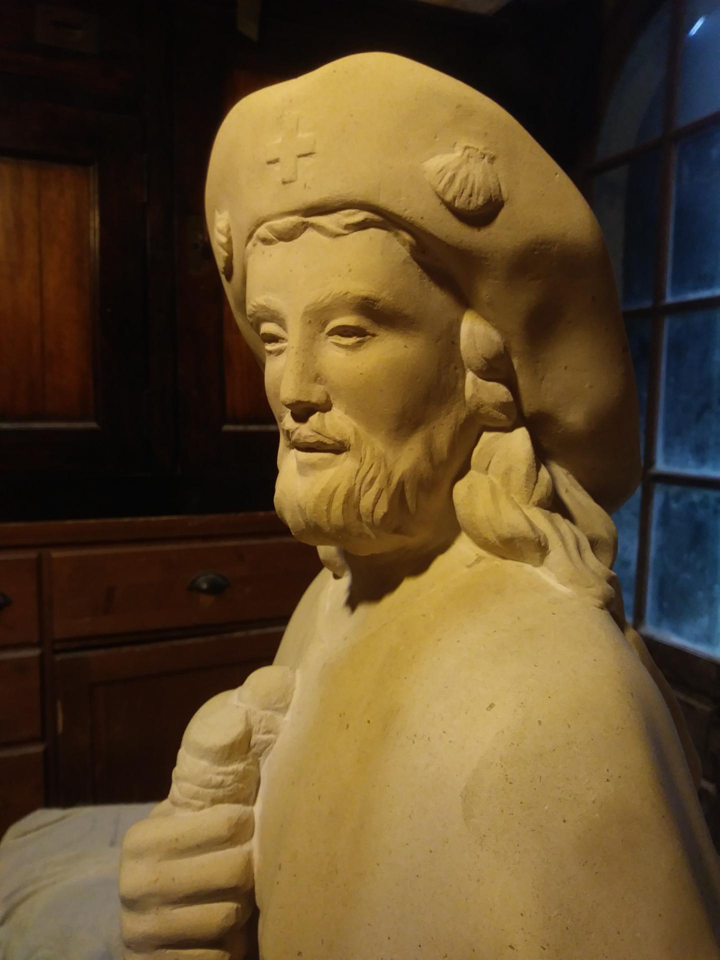 St jacques sculpture sur pierre statue de jean joseph chevalier 83