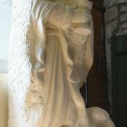 St jean sculpture en pierre 1 2m 77