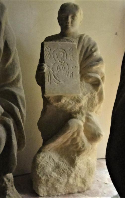 St luc sculpture en pierre 1 20m 64