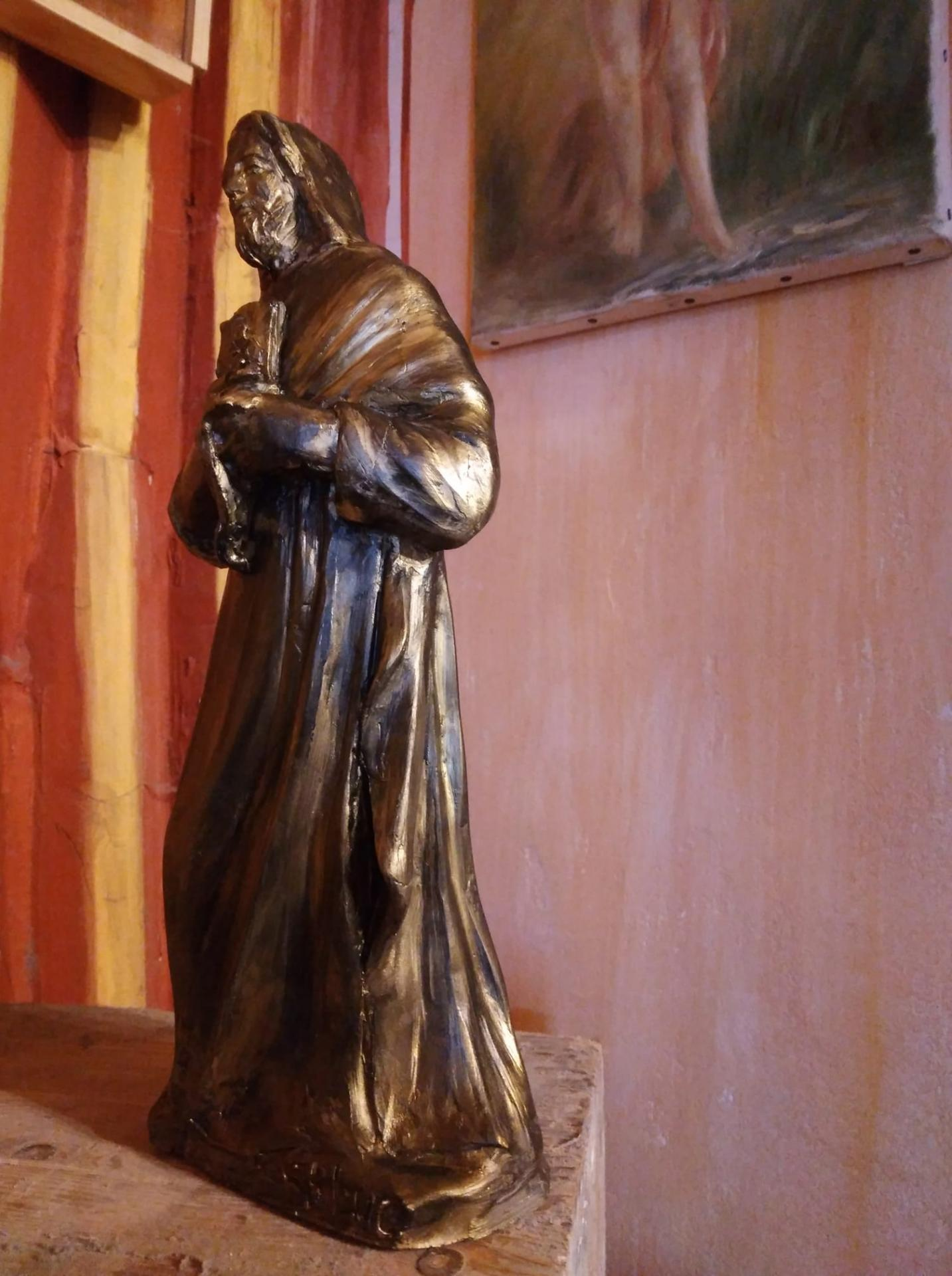 St luc sculpture en terre cuite de jean joseph chevalier 2