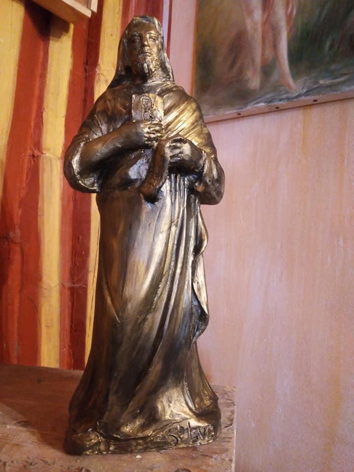 St luc sculpture en terre cuite de jean joseph chevalier 3