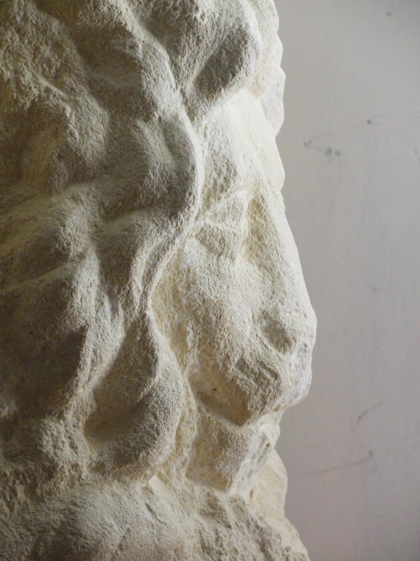 St marc sculpture en pierre 1 2m 85