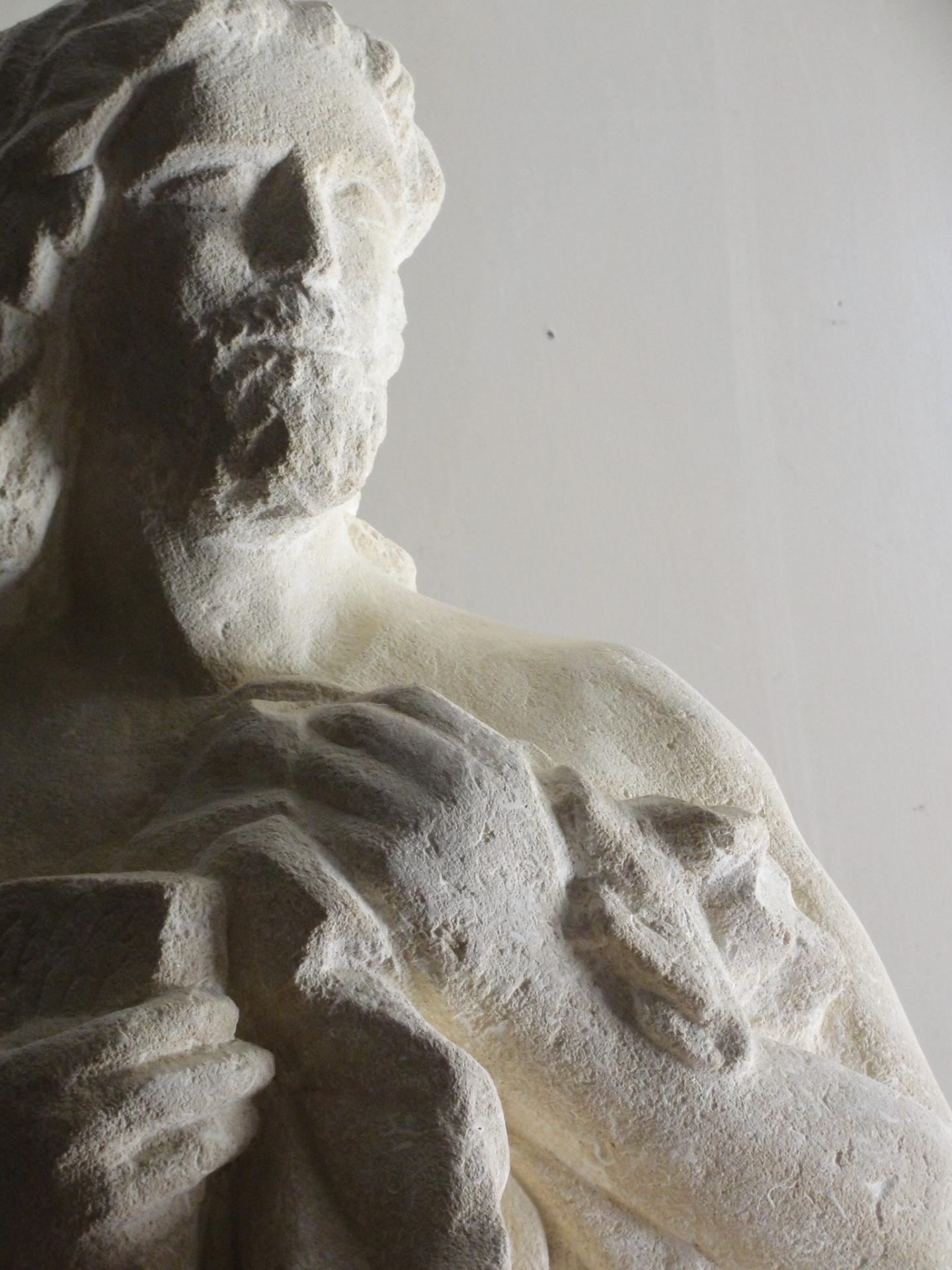 St marc sculpture en pierre 1 2m 86