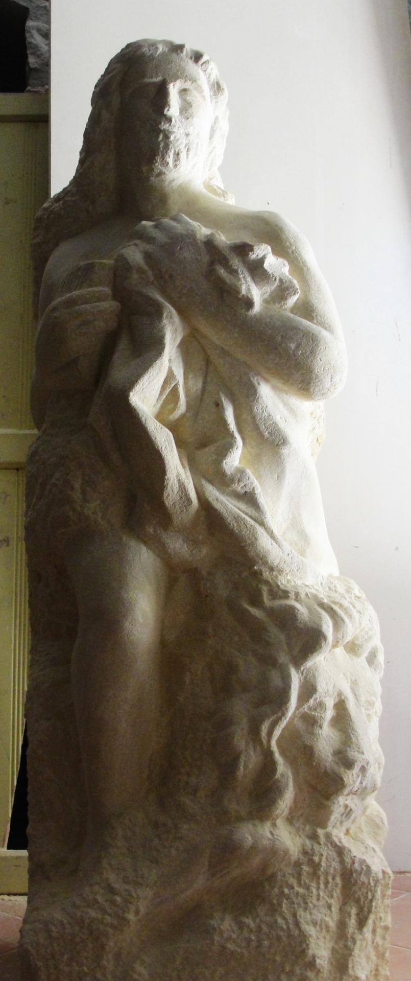 Sculpture sur pierre, ronde bosse, St Marc